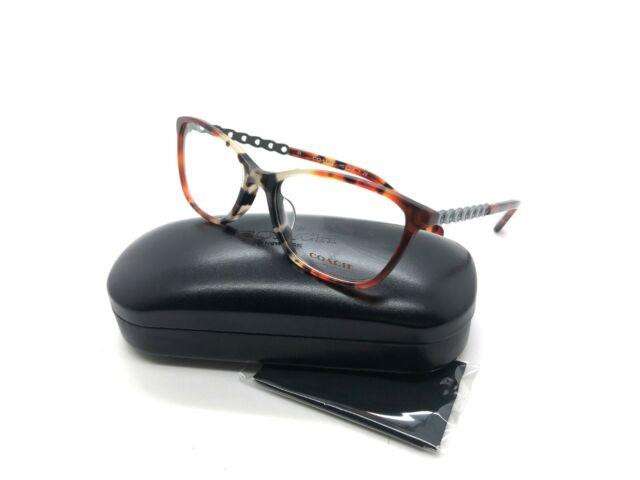Coach HC 6121f 5519 Amber Tortoise Eyeglasses Authentic Frame 55 17
