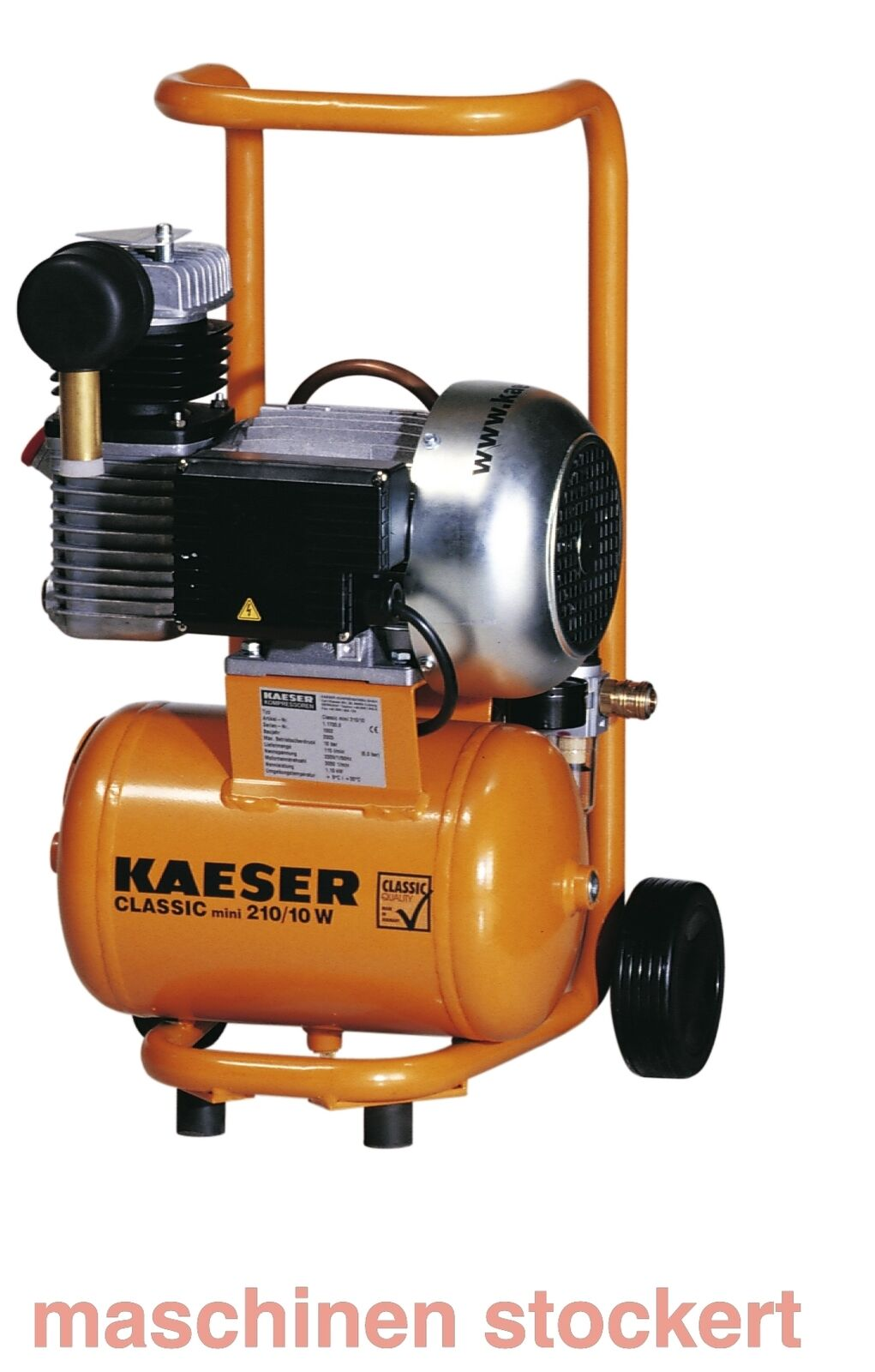 Kaeser Classic Mini 210 Kompressor, 117000, Classic Mini 210/10W