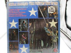 "Merle Haggard The Fightin Side Of Me 12"" LP Capital Rec ST-451 Shrink VG+ c VG+"