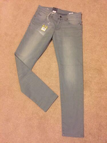 Gstar Super W36 Bnwt Jeans Shamrock Raw Slim 3301 L34 qrxqwft1a