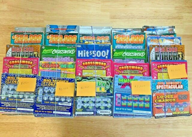 $2,500 Losing New Jersey Lottery Scratch Off Tickets 2019