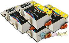 8 Compatible Kodak 10 Ink Cartridges (K10BK & K10C) for Easy share 5300 Printer