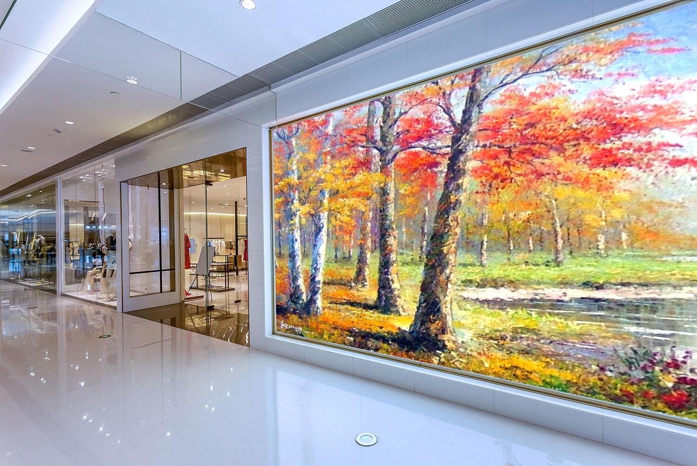 3D Bäume Ölgemälde 864 Tapete Wandgemälde Tapete Tapeten Bild Familie DE Summer | Qualität und Quantität garantiert  | Verpackungsvielfalt