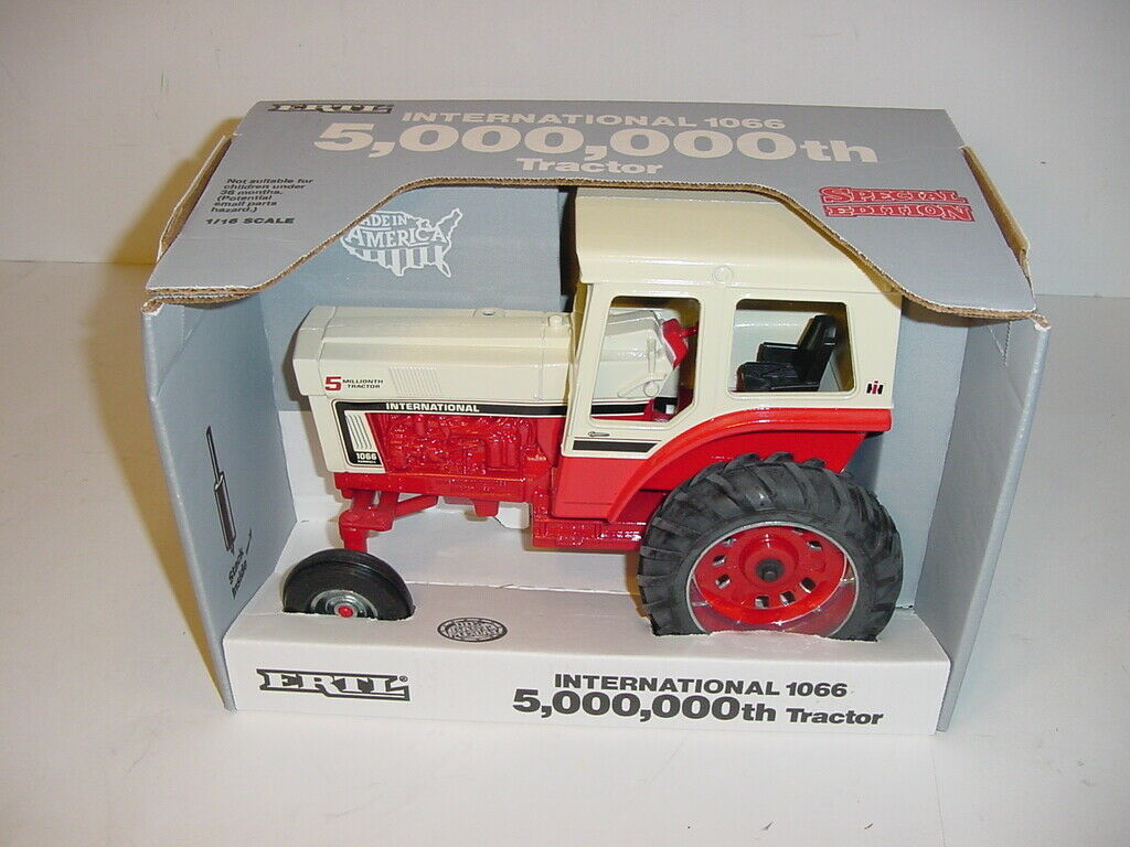 1 16 International 1066 Five Millionth Edition Tractor by ERTL NIB