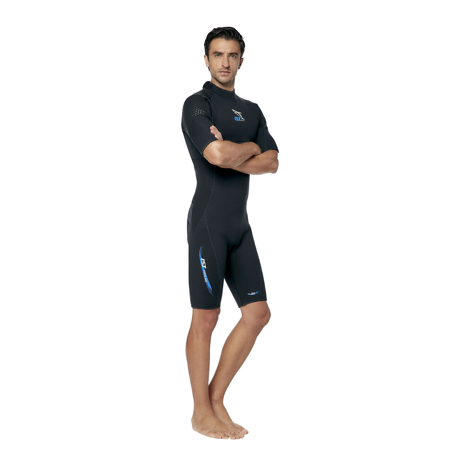 IST WS35 3mm Shorty with Super-Stretch Armpit Panels for Men