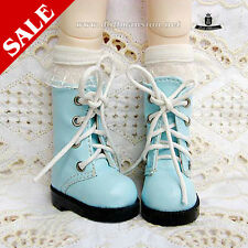 1/6 BJD Shoes Yosd Dollfie DIM Lolita blue Boots AOD DOD DREAM SOOM LUTS Shoes