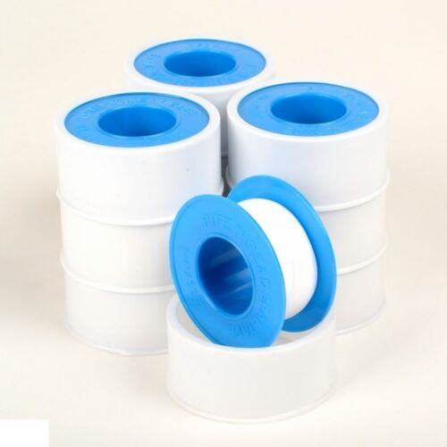 "10 Rolls Teflon Pipe Thread Tape 3//4/"" x 520/' Mil Spec PTFE Plumber Plumbing NEW"