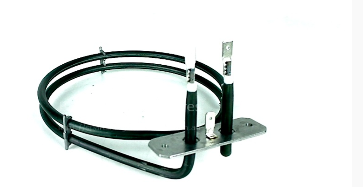 1600W 2 Turn Element For BEKO BD533AW BDV555AK BDV555AS Fan Oven Cooker Spare