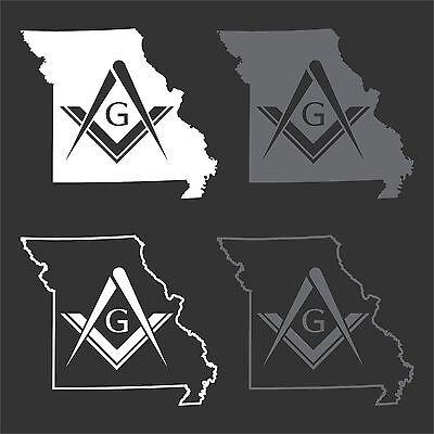 Georgia Free Mason Masonic Temple Decal