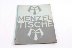 Age-Print-Menzel-Tables-Catalog-Pictorial-Old-Vintage-Collector