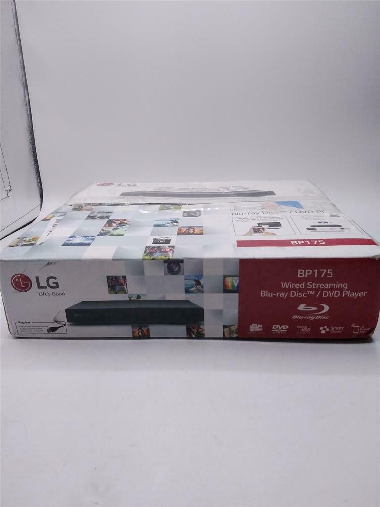 LG Blu-ray Disc/DVD Player Wired Streaming player streaming wired