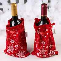 New Year Christmas Candy Wine Gift Bag Xmas Home Party Wedding Decor ornament