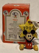 Mickey /& Co Mickey On Wreath Dated 1993 Ornament RARE Enesco 652997