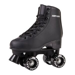 Cal-7-Roller-Skates-Indoor-Outdoor-Skating-Faux-Leather-Boot-PVC-Frame