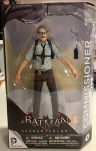 DC Collectibles Batman Arkham Knight Comisario Gordon figura #8