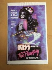 KISS Meets the Phantom of the Park movie promo poster