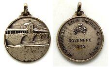 Medaglia Argento 800-III Battaglione Genio Pionieri Di Corpo D'Armata Pavia 1972