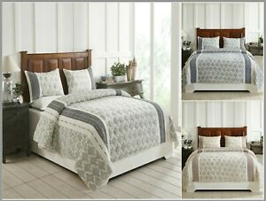 Better-Trends-Essential-Collection-100-Cotton-Jacquard-Quilted-Comforter-Set