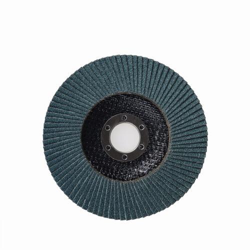 "Fokus 10 Pack 4-1//2/"" x 7//8/""  Grit 40 Zirconia Flap Disc Grinding Wheels T29"