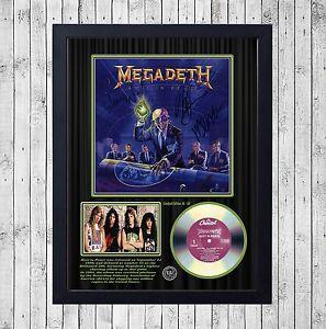 MEGADETH-RUST-IN-PEACE-CUADRO-CON-GOLD-O-PLATINUM-CD-EDICION-LIMITADA-FRAMED
