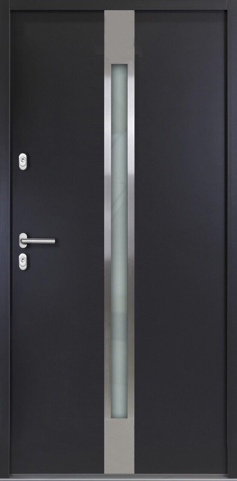 Aktionshaustür  Aluminium Haustür Alu AT505 - Ausstellung Werne