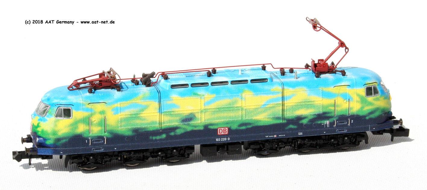 Minitrix 16343-and-Lok BR 103, DB AG  Tourist , EP. V, DCC & Sound