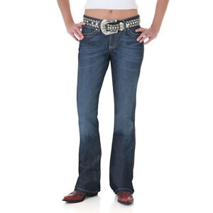 Wrangler Ladies Mae Jeans Low Rise Boot Cut 9MWZSD ~ MANY SIZES!!