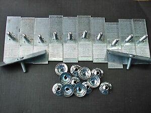 "nylon trim clips 5//8/"" to 3//4 wide moulding 12 pcs"