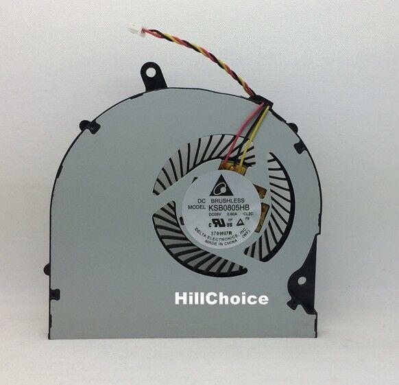 New CPU Fan For Toshiba Satellite P50 P50-B P50T S50 S55 Laptop KSB0805HB CL2C