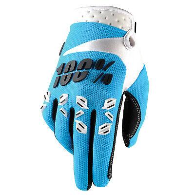 100% Airmatic Blue Motocross Guanto-blu Bianco-