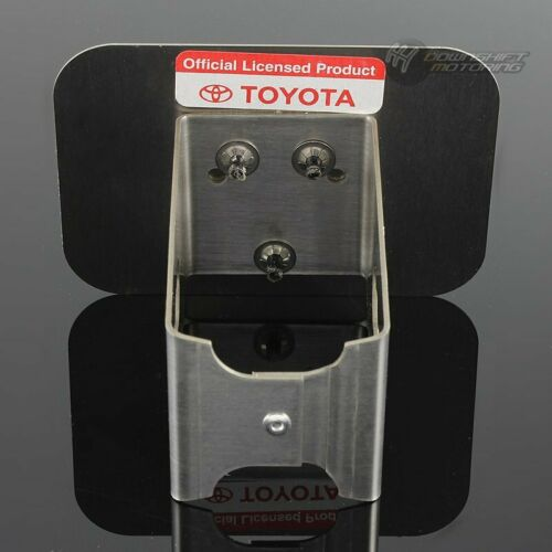 "Black For TOYOTA Logo Stainless Hitch Cover Plug Cap For 2/"" Trailer Tow Receiver"