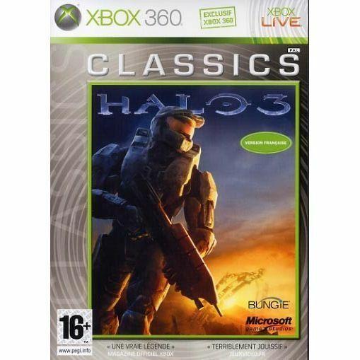 HALO 3 CLASSICS JEU XBOX 360 NEUF VERSION FRANCAISE