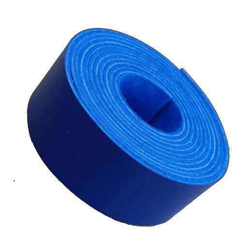 6-7 oz 2.4-2.8 mm Leather Strips 1.25 inch -Belts-Guitar Straps-Collars-Purse