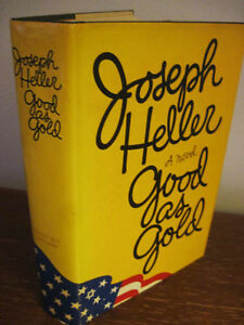 1st-Edition-GOOD-AS-GOLD-Joseph-Heller-NOVEL-First-Printing-FICTION