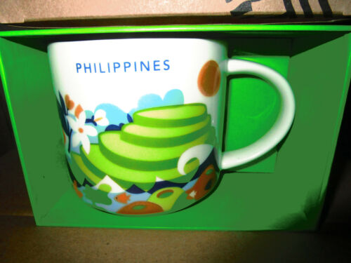 2017 STARBUCKS PHILIPPINES 14 OZ MUG You Are Here Collection GLOBAL ICON new