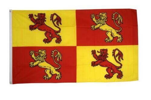 Fahne Wales Royal Owain Glyndwr Flagge königliche walisische Hissflagge 90x150cm