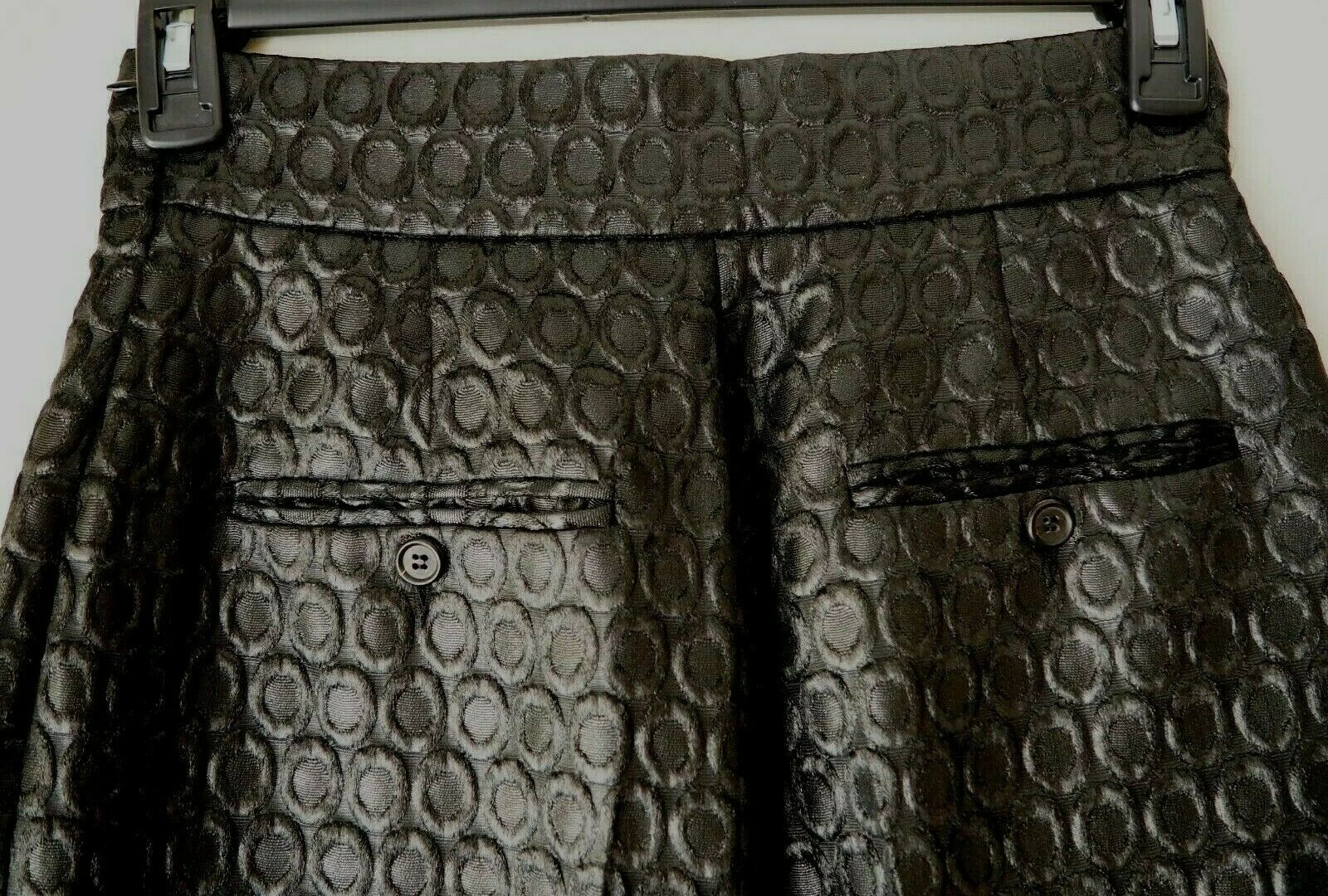 PRADA 1990's Vintage Pants Trousers Circular Desi… - image 7