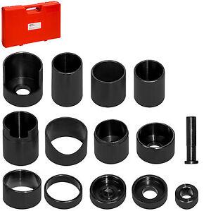 Treibsatz-Austreiber-Set-14tlg-Werkstattpresse-Lager-Lagertreibsatz-Druckstueck