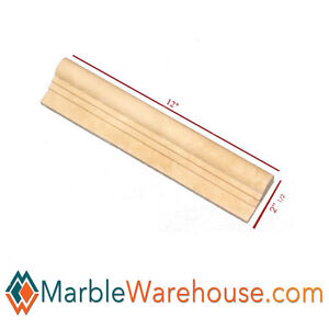 Image Is Loading OGEE TRAVERTINE CHAIR RAIL MOLDING For Wall HONED