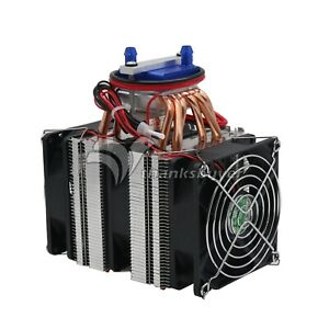 Details About 12v Thermoelectric Cooler 180w Water Chiller Diy Cooling System Fo 40l Fish Tank
