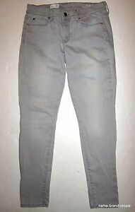 76f71a13a0c6a GAP 1969 LEGGING JEAN Jeans Womens 28r 28 Gray Denim SKINNY Leg ...