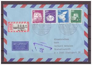 Rfa-Inscrire-Sst-Francfort-au-Main-100-Annees-Club-pour-Bfmk-21-05-1978