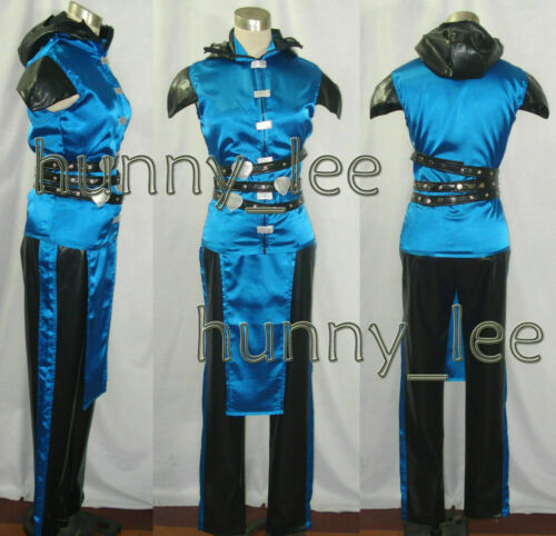 Mortal Kombat Sub-zero Cosplay Costume  /&