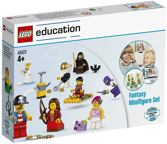 LEGO®  education 45023 Fantasy Minifigure Set  - NEW / FACTORY SEALED VERY RARE