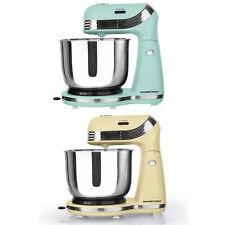 GOURMETmaxx Retro Küchenmaschine Mint oder Vanille Rührmaschine Teigmaschine