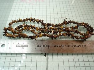 340cts-Yellow-Tigers-Eye-Small-Nuggets-from-Approx-4x5-to-15x4mm-Approx-86cm