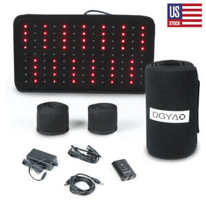 DGYAO-Red-Light-Therapy-Infrared-Light-Pad-for-Back-Pain-Relief-Gift-for-Mom