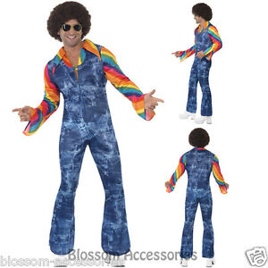 CL432-Groovier-Dancer-Hippie-1960s-1970s-Retro-Disco-Mens-Fancy-Dress-Costume