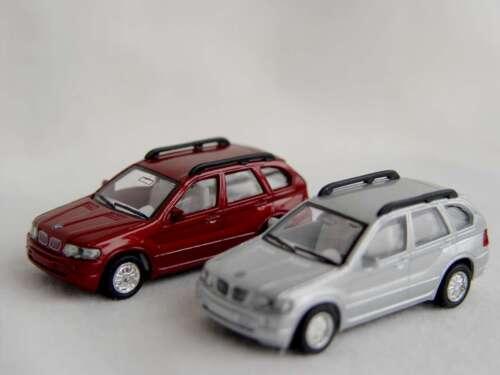 Kinsmart Modellautos Modell Auto Spritzguss Rückzugmotor BMW X5 1:72