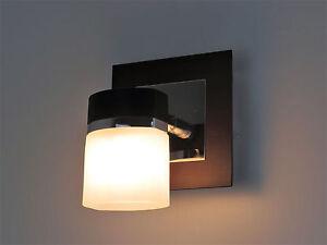 Applique lampada parete moderno spot faretto bagno specchio ebay